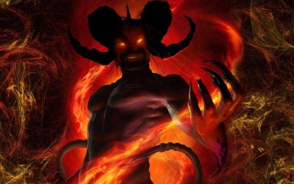 Oscuro Demonio Criatura Guerrero Hell Fondo de pantalla HD | Fondo de Escritorio