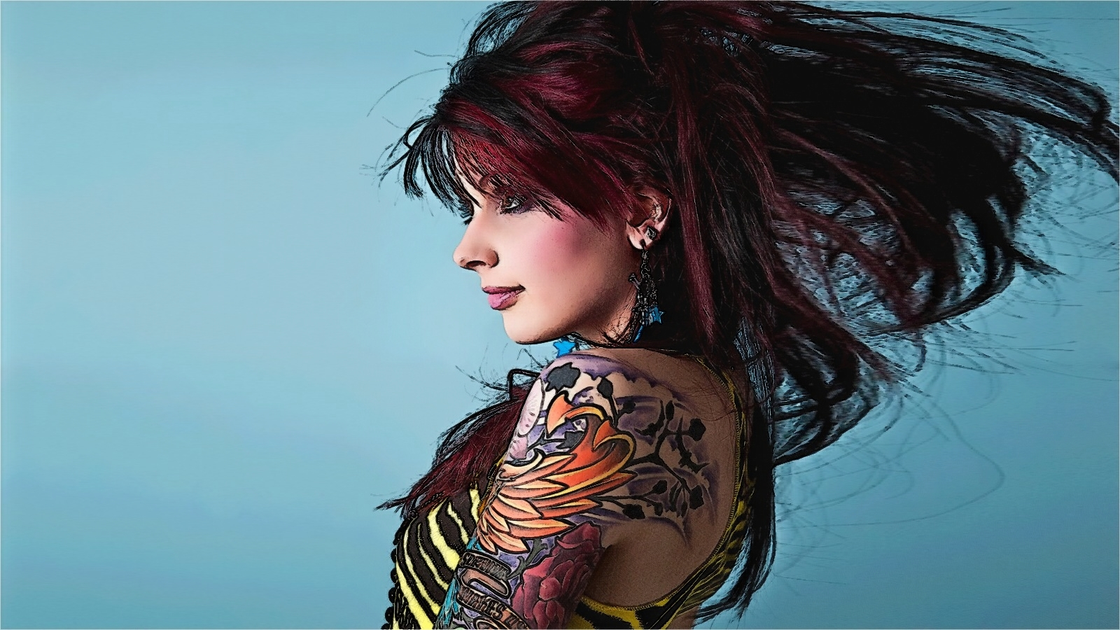 Women - Tattoo Wallpaper