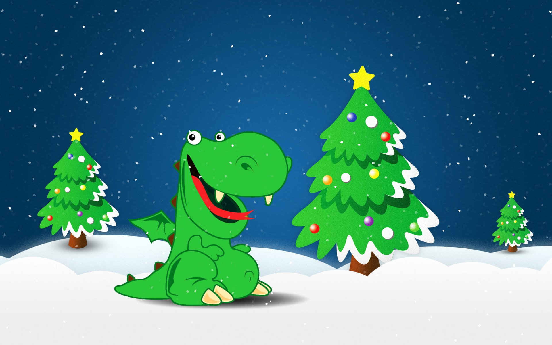 Cartoon - Christmas  Wallpaper