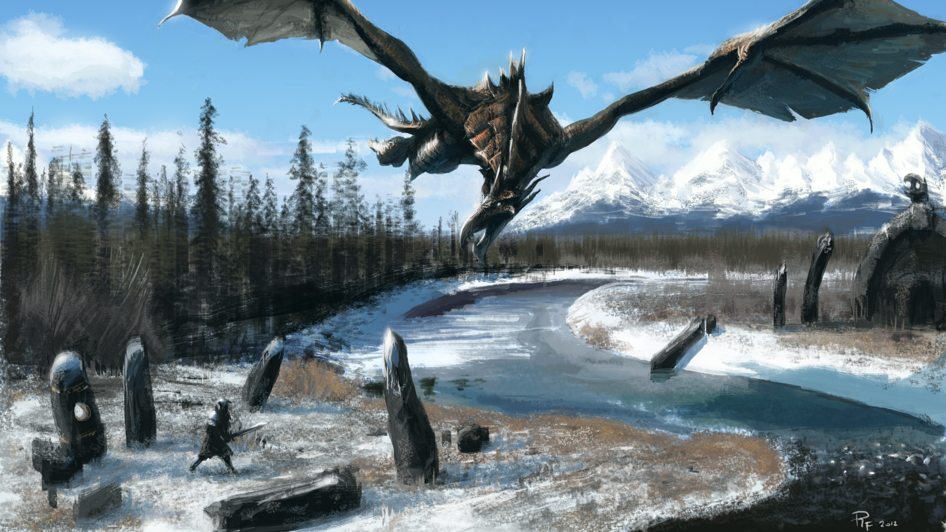 Video Game - Skyrim Wallpaper