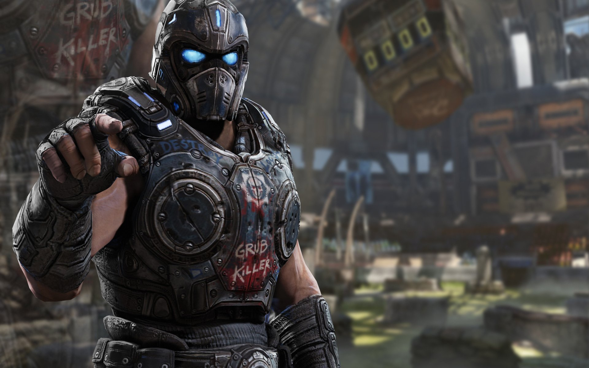 Gears Of War 3 Fondo De Pantalla HD