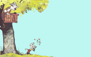 Cartoni - Calvin And Hobbes Wallpapers and Backgrounds ID : 208436