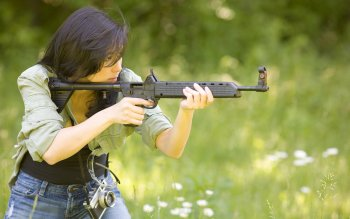 Women - Women & Guns Wallpapers and Backgrounds ID : 208984