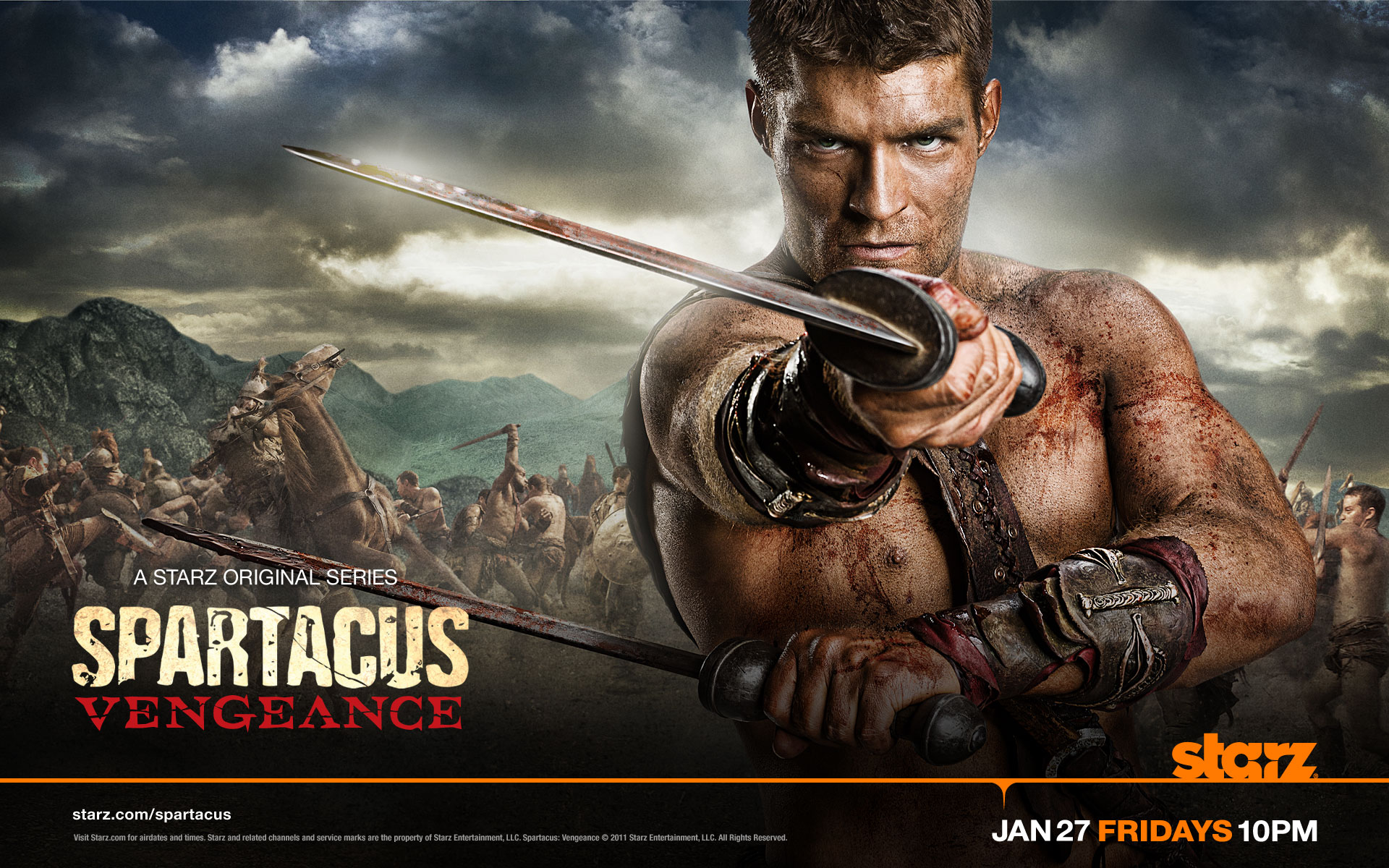 Spartacus HD Wallpaper | Background Image | 1920x1200 | ID