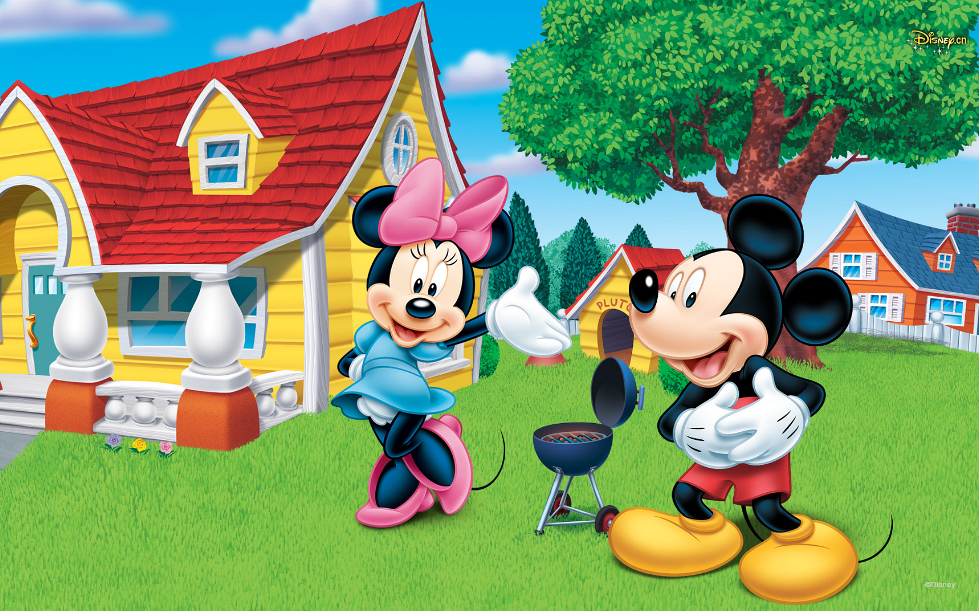 17 mickey and minnie hd wallpapers backgrounds wallpaper abyss - Minni et mickey ...