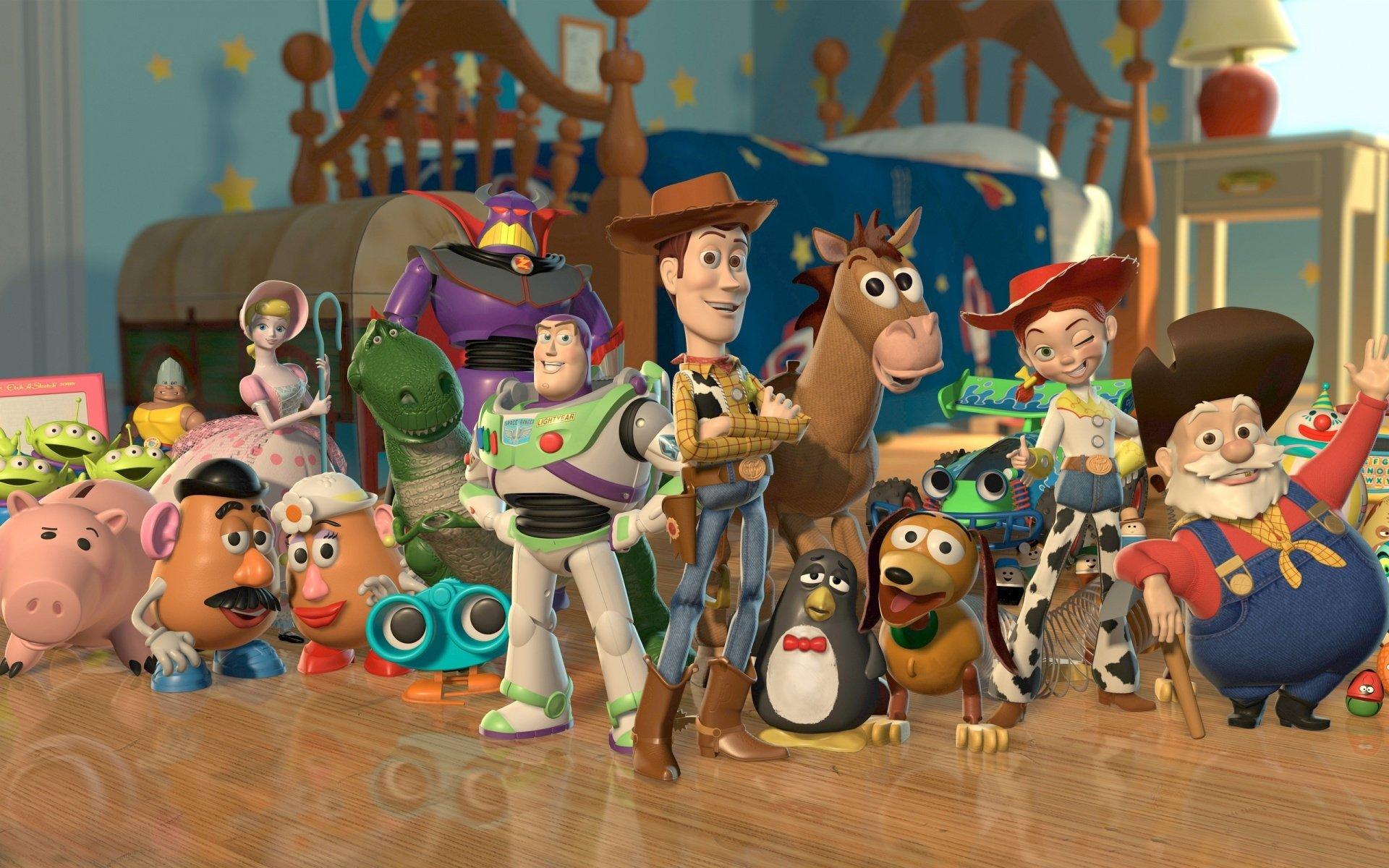 Toy Story Hd Wallpaper Hintergrund 1920x1200 Id210048