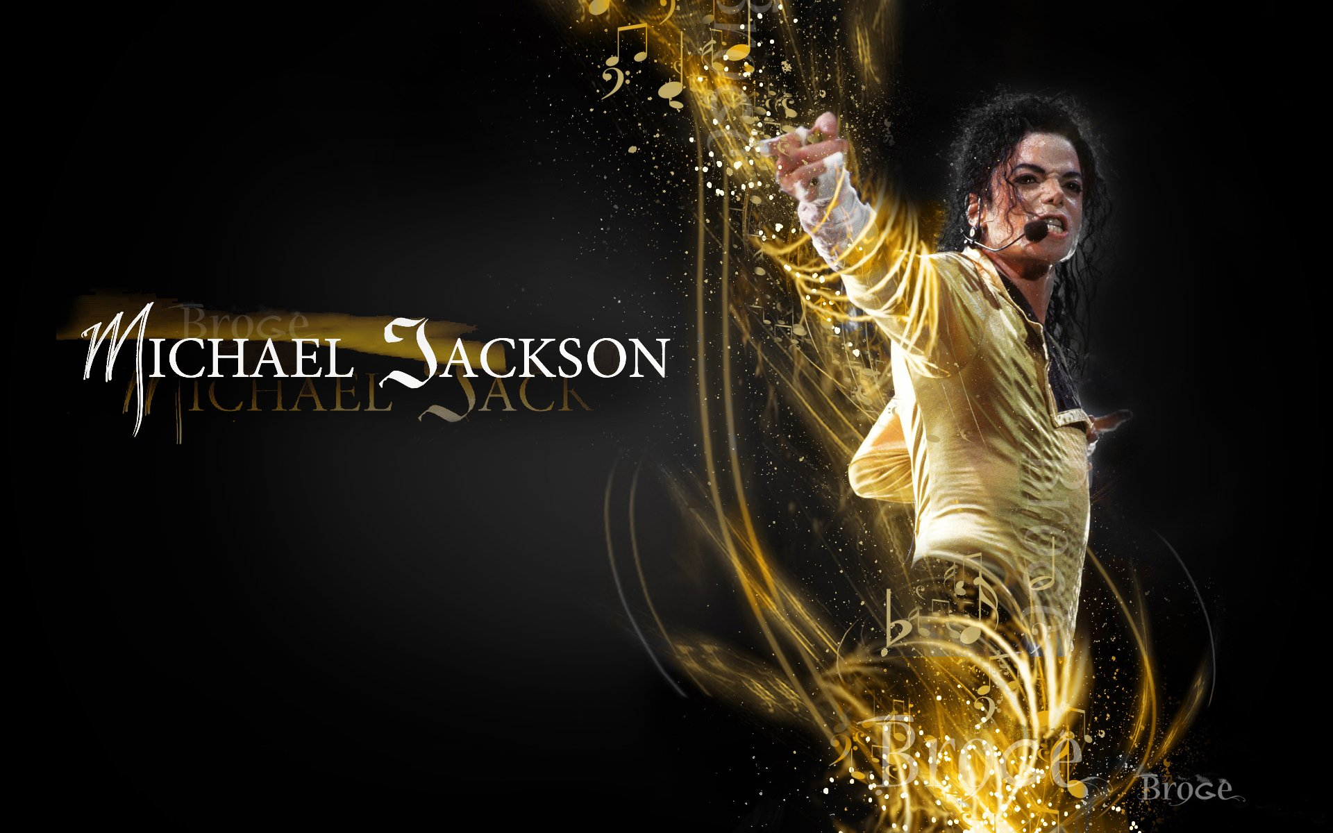 Music - Michael Jackson  Wallpaper