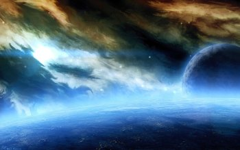 Sci Fi - Planet Rise Wallpapers and Backgrounds ID : 211944