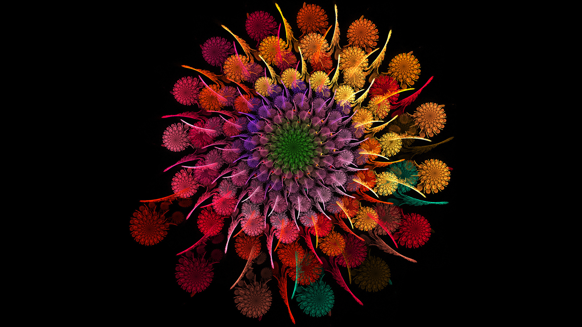 top fractal wallpapers floral - photo #39