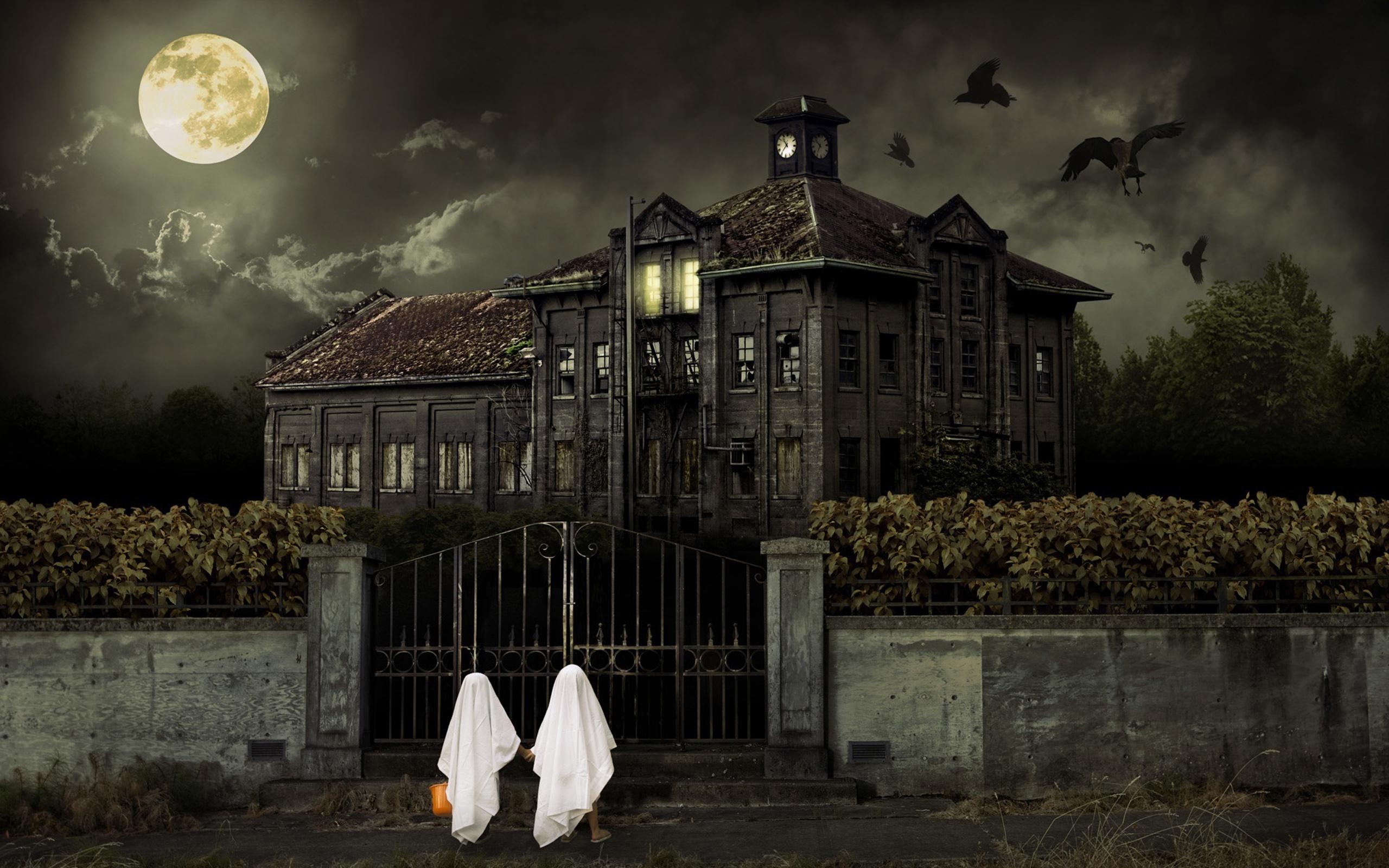Dark - Building  Wallpaper