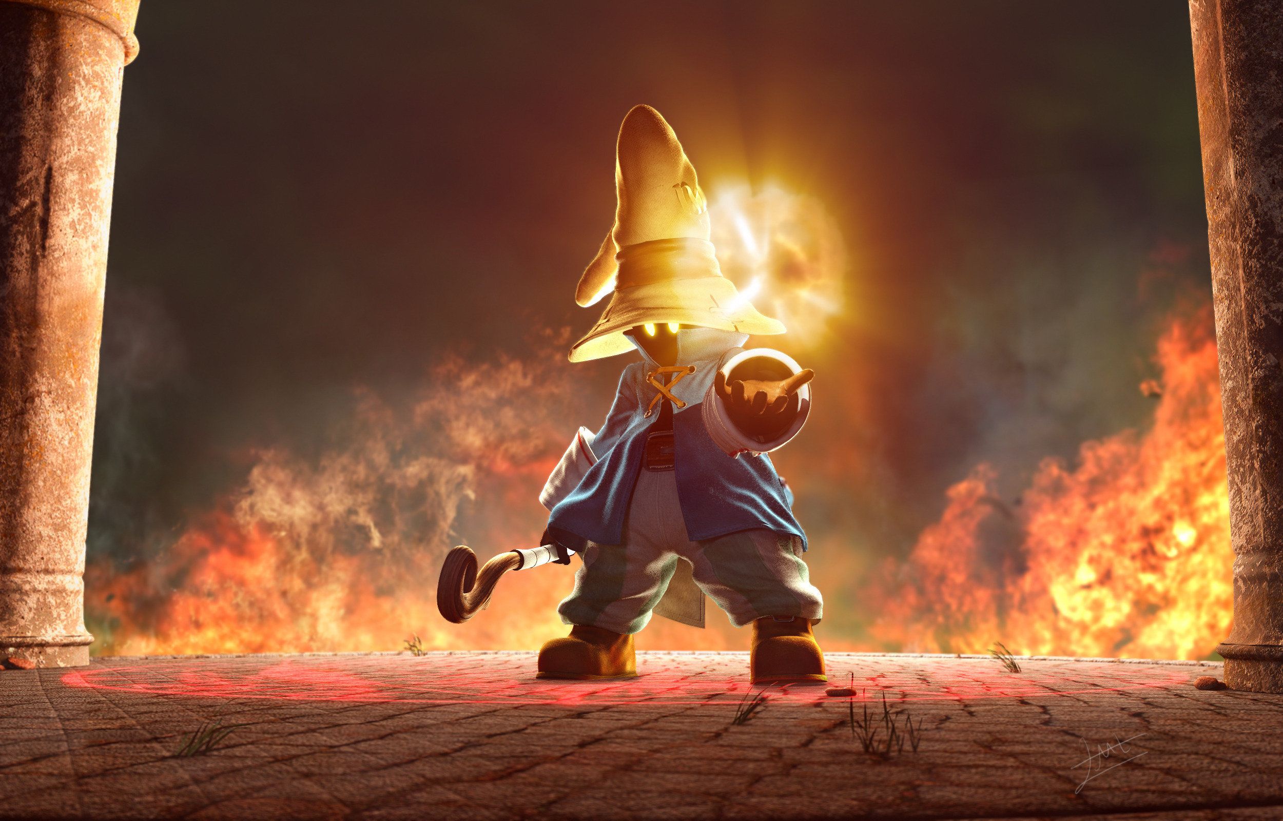 4 Black Mage Final Fantasy Hd Wallpapers Background Images