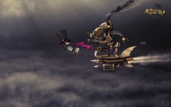 Science-Fiction - Steampunk Wallpapers and Backgrounds ID : 212666