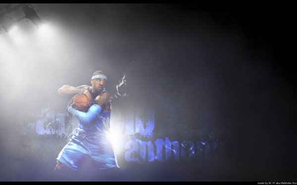 Sports New York Knicks Basketball Carmelo Anthony HD Wallpaper | Background Image
