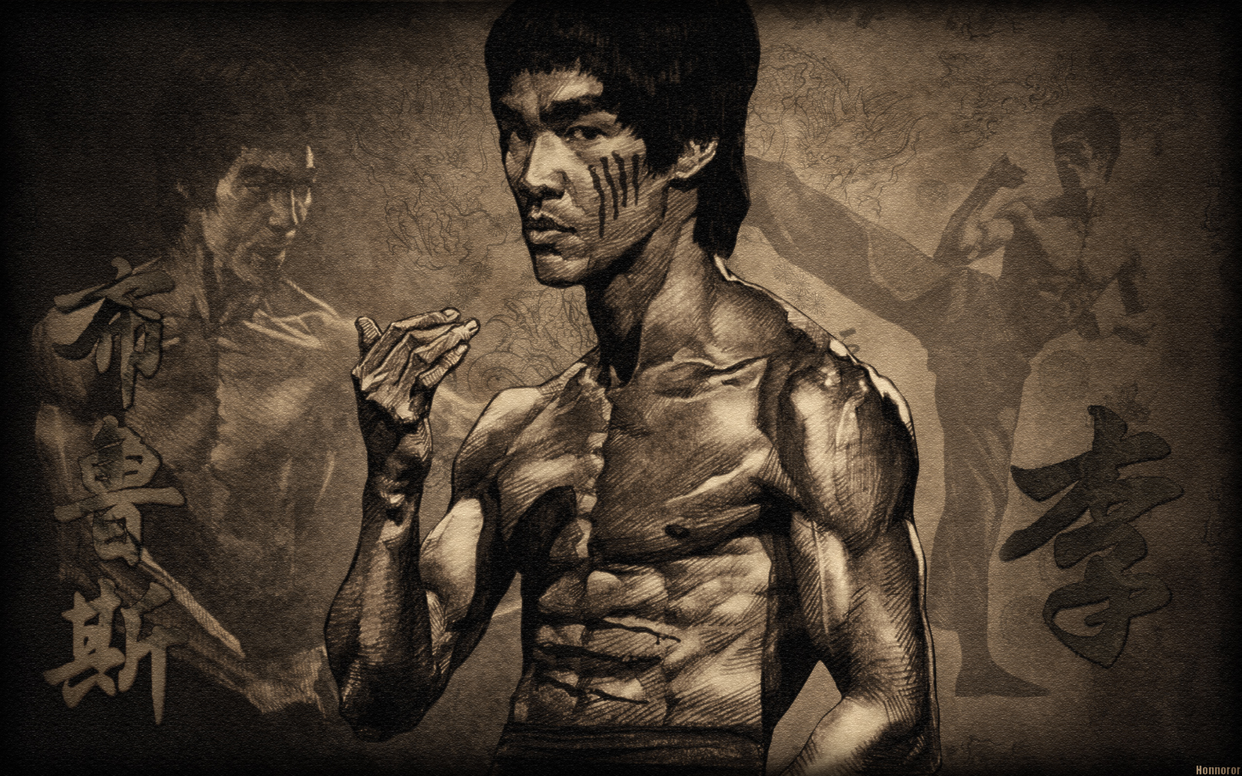 Sports - Martial Arts  Bruce Lee Timerclass Timer Wallpaper