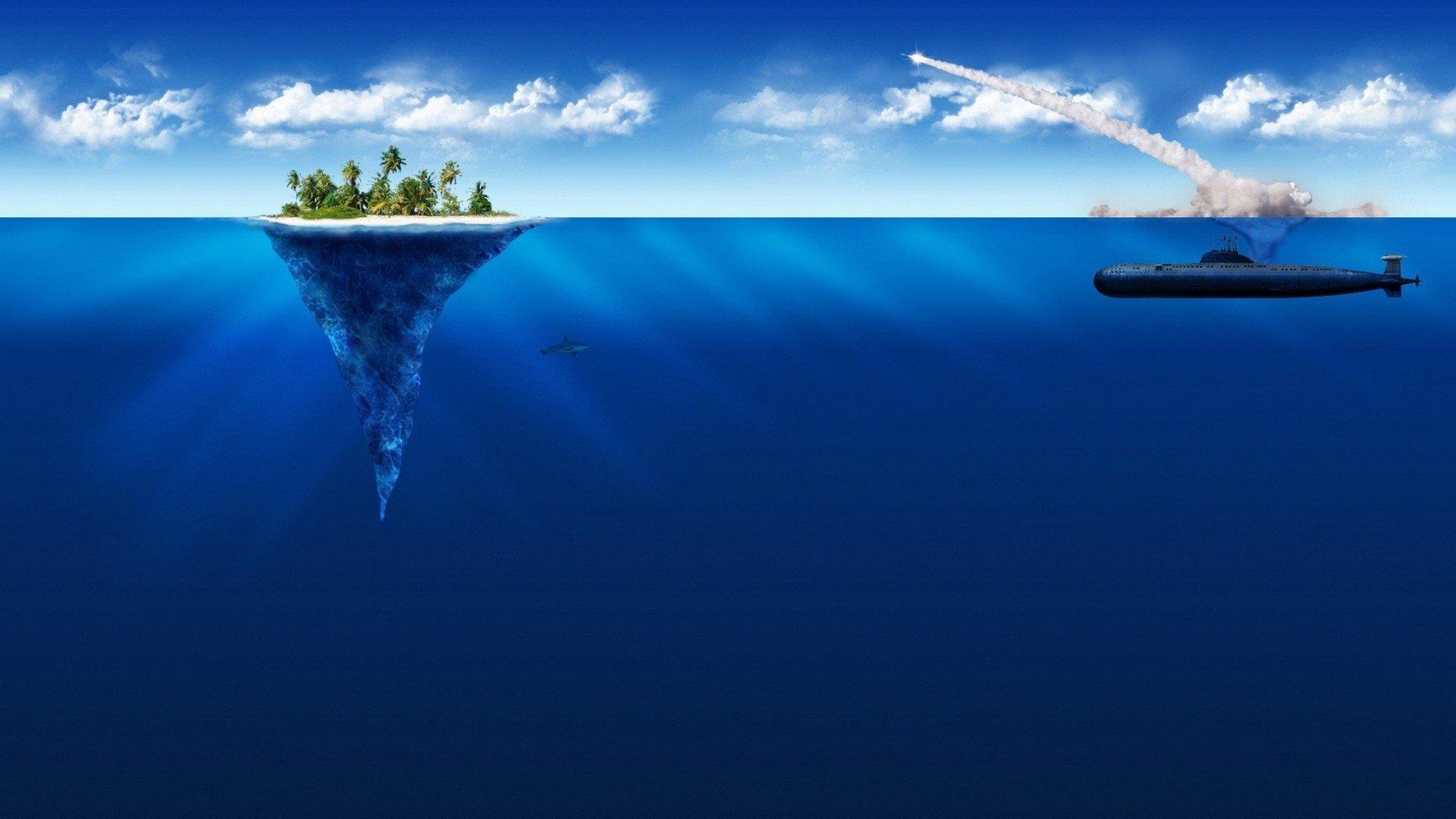 Submarino Fondo De Pantalla Hd Fondo De Escritorio