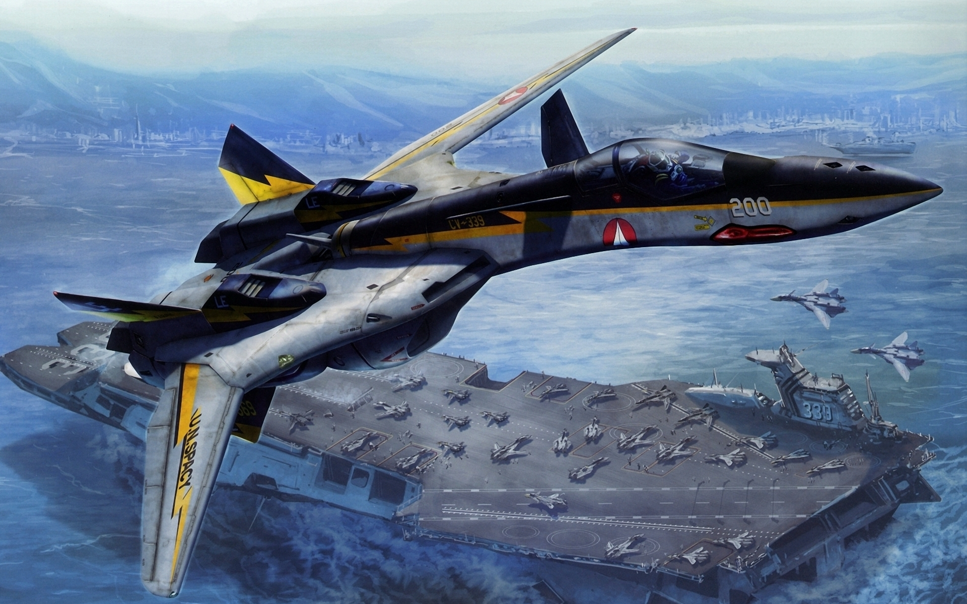 Macross full hd wallpaper and background image 1920x1200 - Wallpapers robotech 3d ...