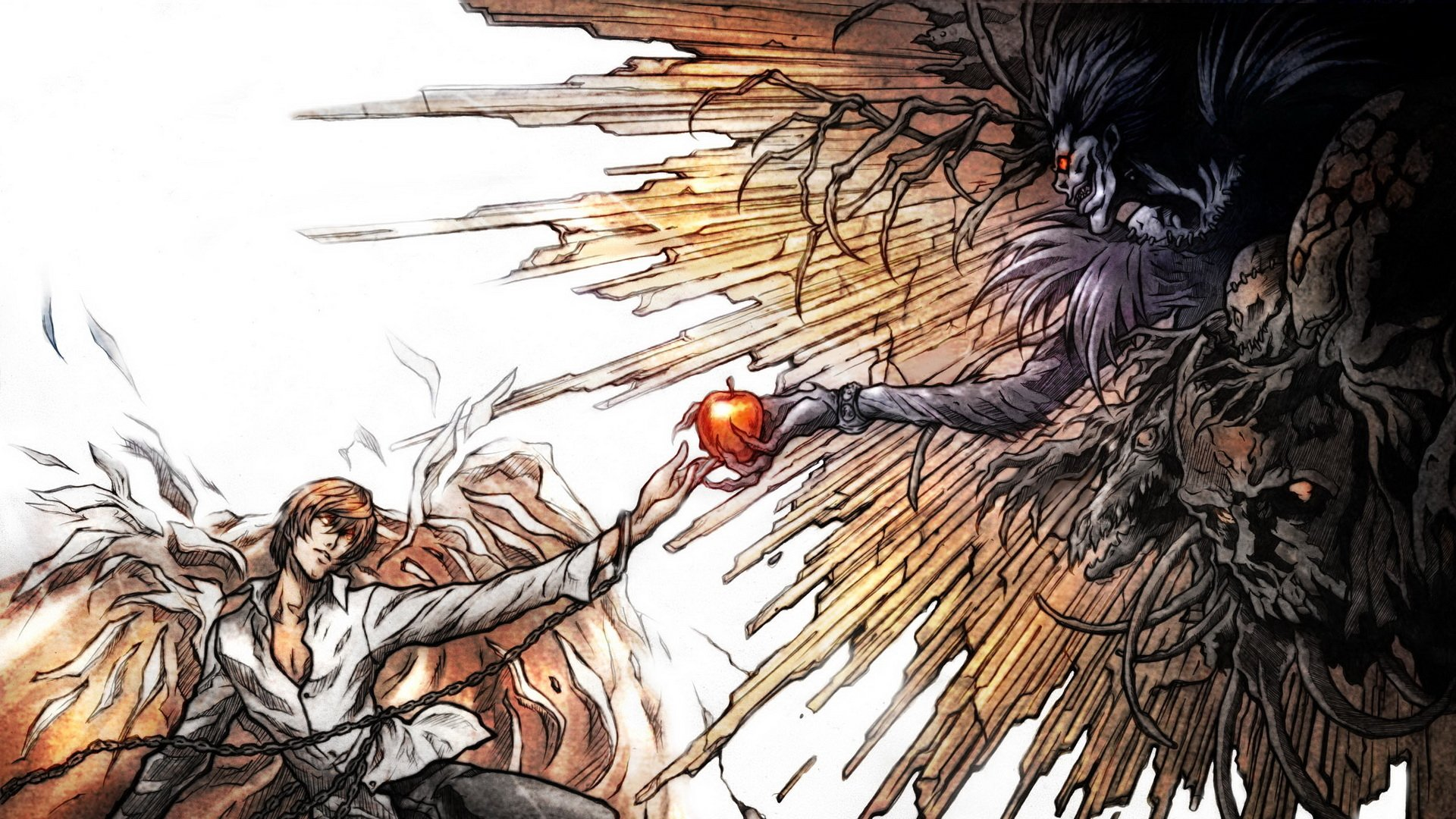 Anime - Death Note  Kira (Death Note) Wallpaper