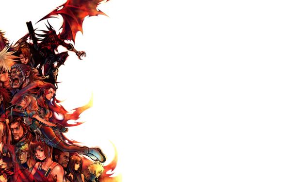 Video Game Dirge of Cerberus: Final Fantasy VII Final Fantasy Vincent Valentine Yuffie Kisaragi Cid Highwind Tifa Lockhart Cloud Strife Barret Wallace Cait Sith Azul Rosso Reeve Tuesti Weiss Shalua Rui Lucrecia Crescent Nero Hojo Grimoire Valentine Shelke HD Wallpaper | Background Image