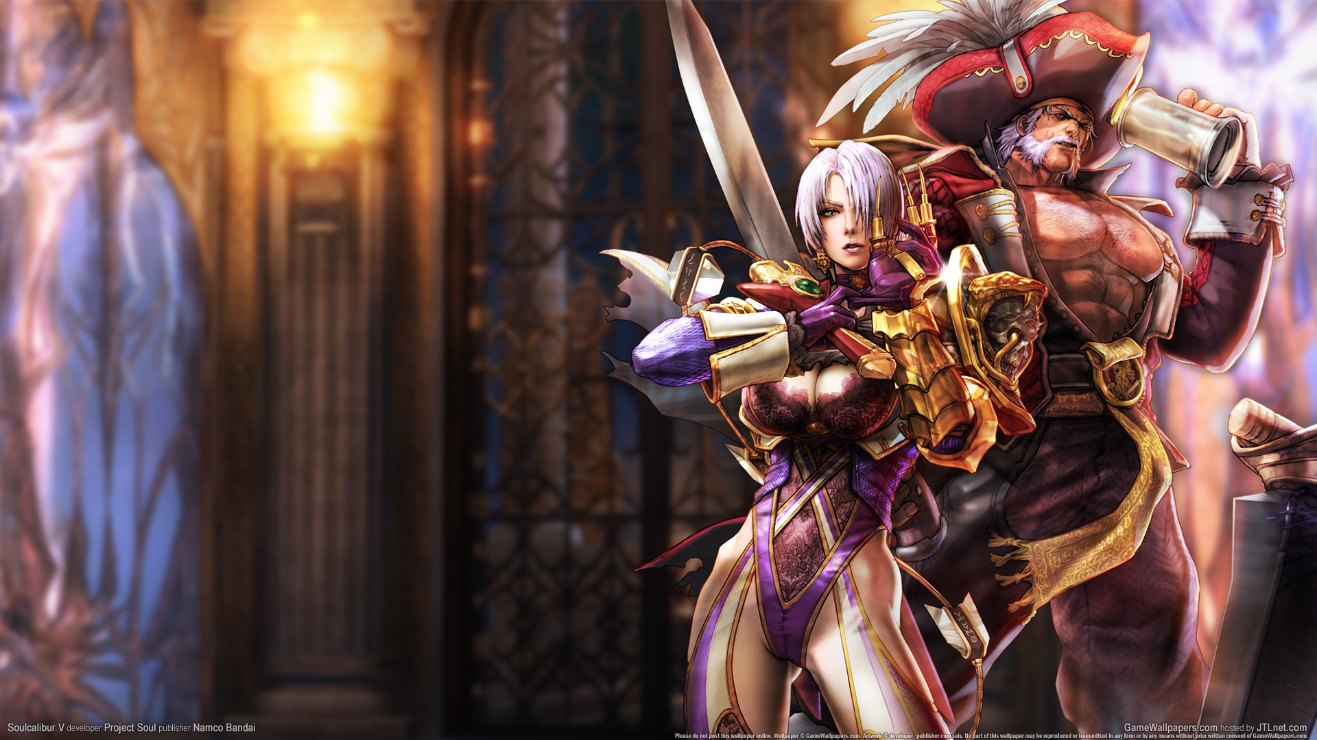 Video Game - Soulcalibur  - Soul Calibur - Game - Dark - Soul Calibur V - Soldier Wallpaper