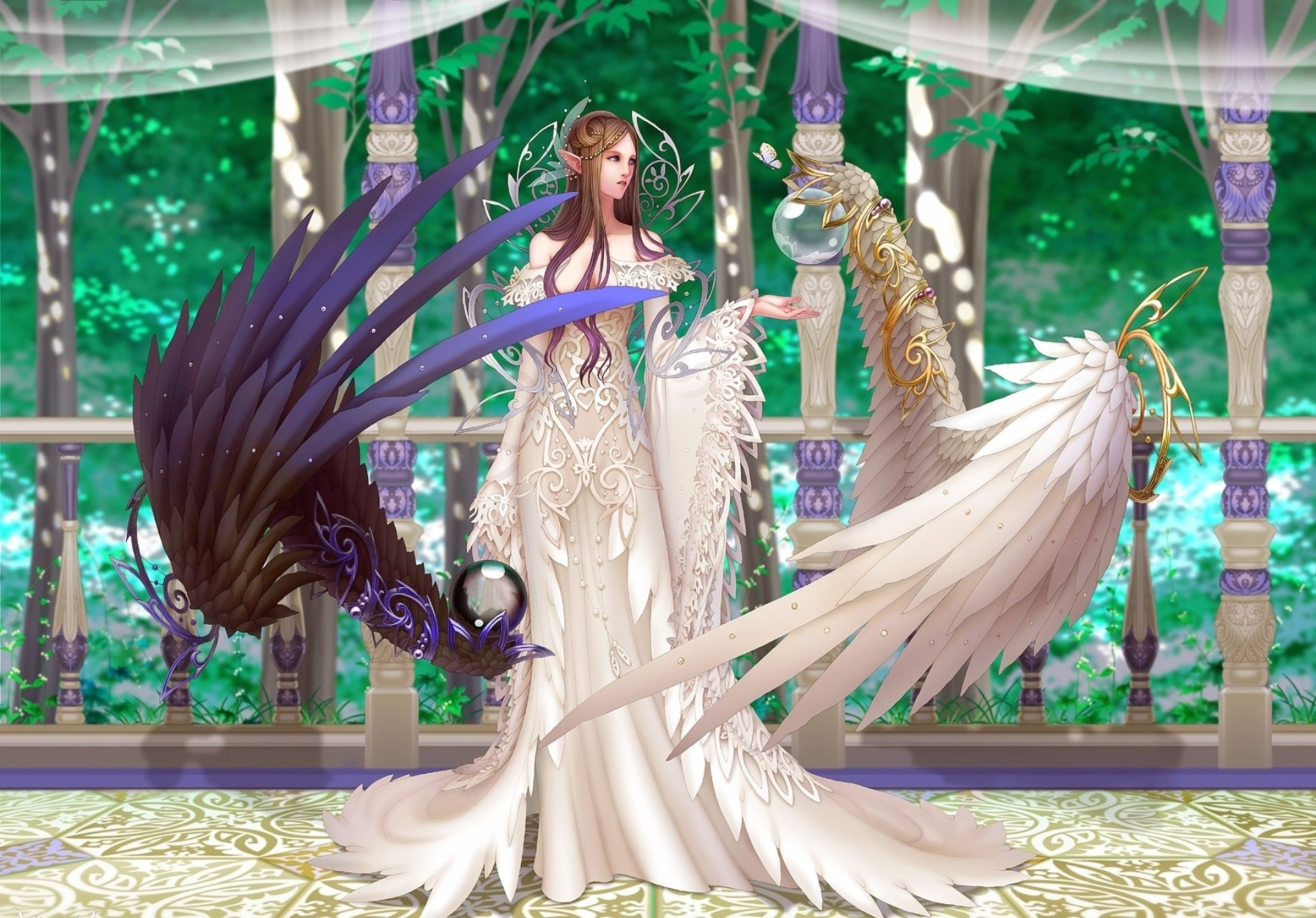 Fantasy - Angel  Fallen Angel Game Anima (Video Game) Wallpaper