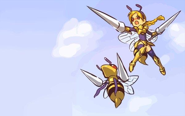 Anime Pokémon Beedrill Bug Pokemon HD Wallpaper | Background Image