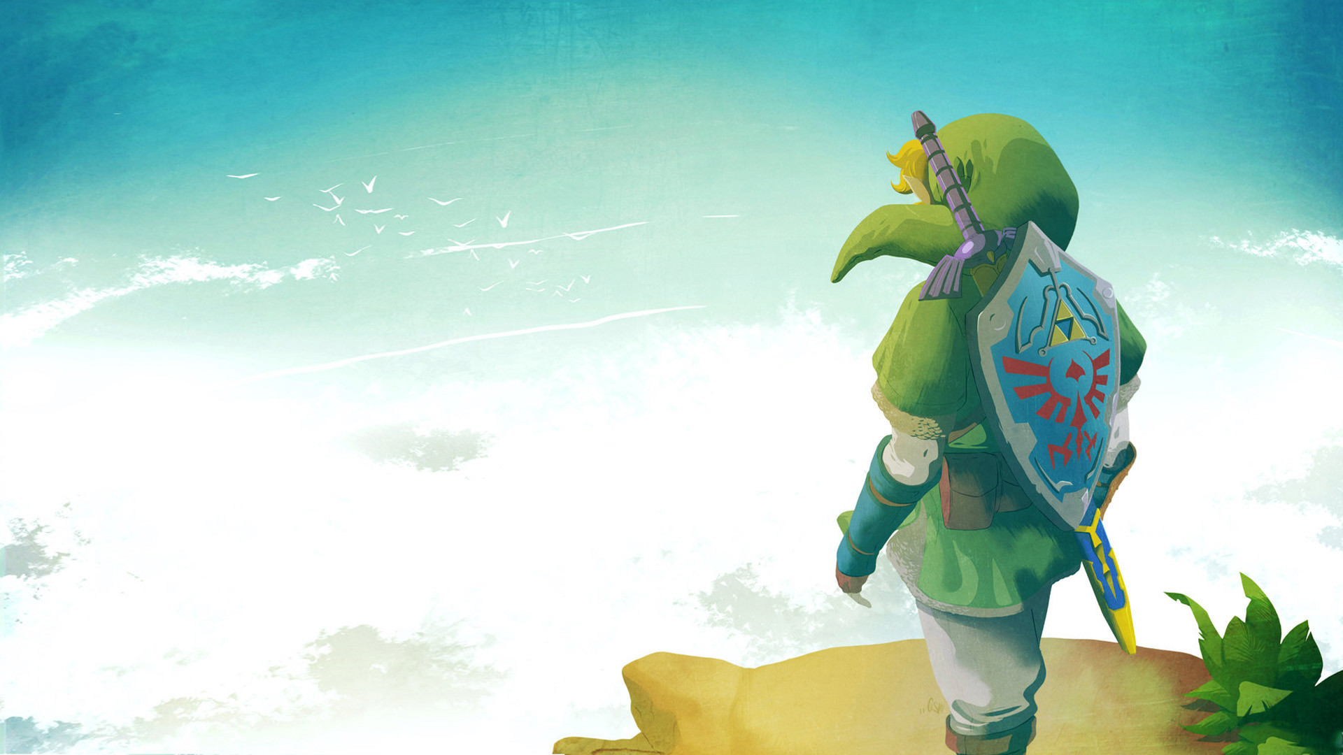 The Legend Of Zelda Skyward Sword Hd Wallpaper Hintergrund
