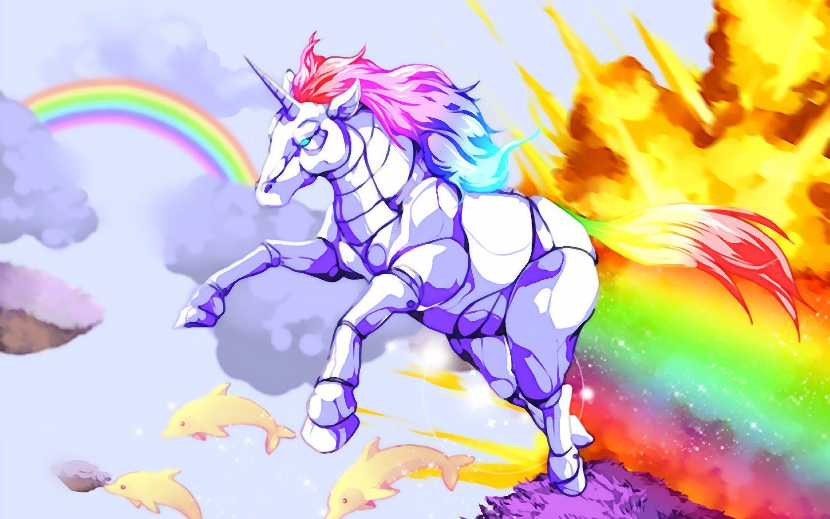 Hd wallpaper unicorn - Hd Wallpaper Background Id 216948