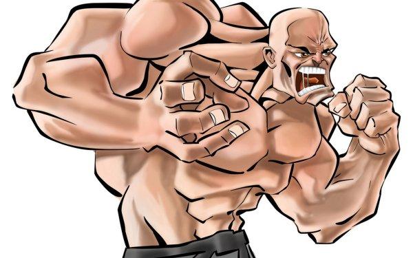 Artistic Men MMA HD Wallpaper | Background Image