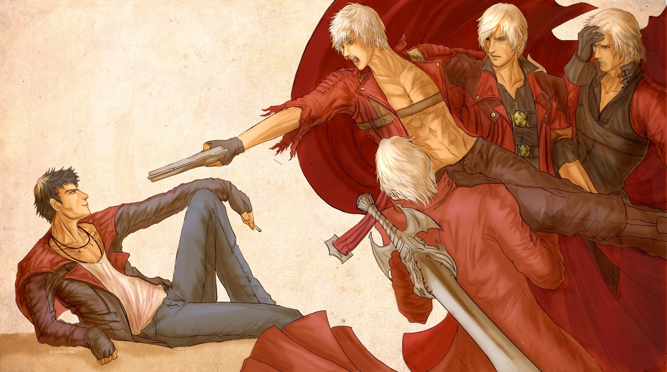 18 Devil May Cry Hd Wallpapers Background Images Wallpaper Abyss