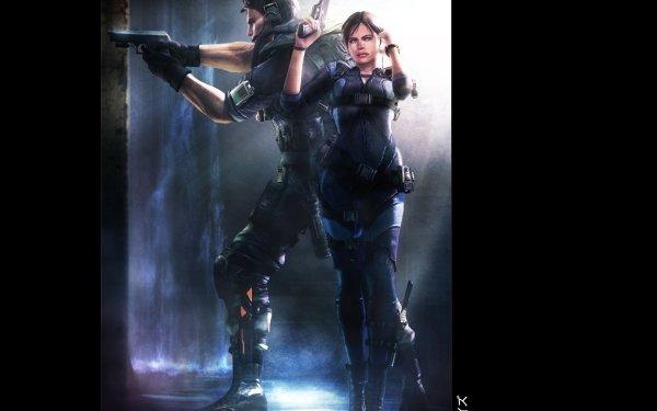 Video Game Resident Evil: Revelations Resident Evil Chris Redfield Jill Valentine HD Wallpaper | Background Image
