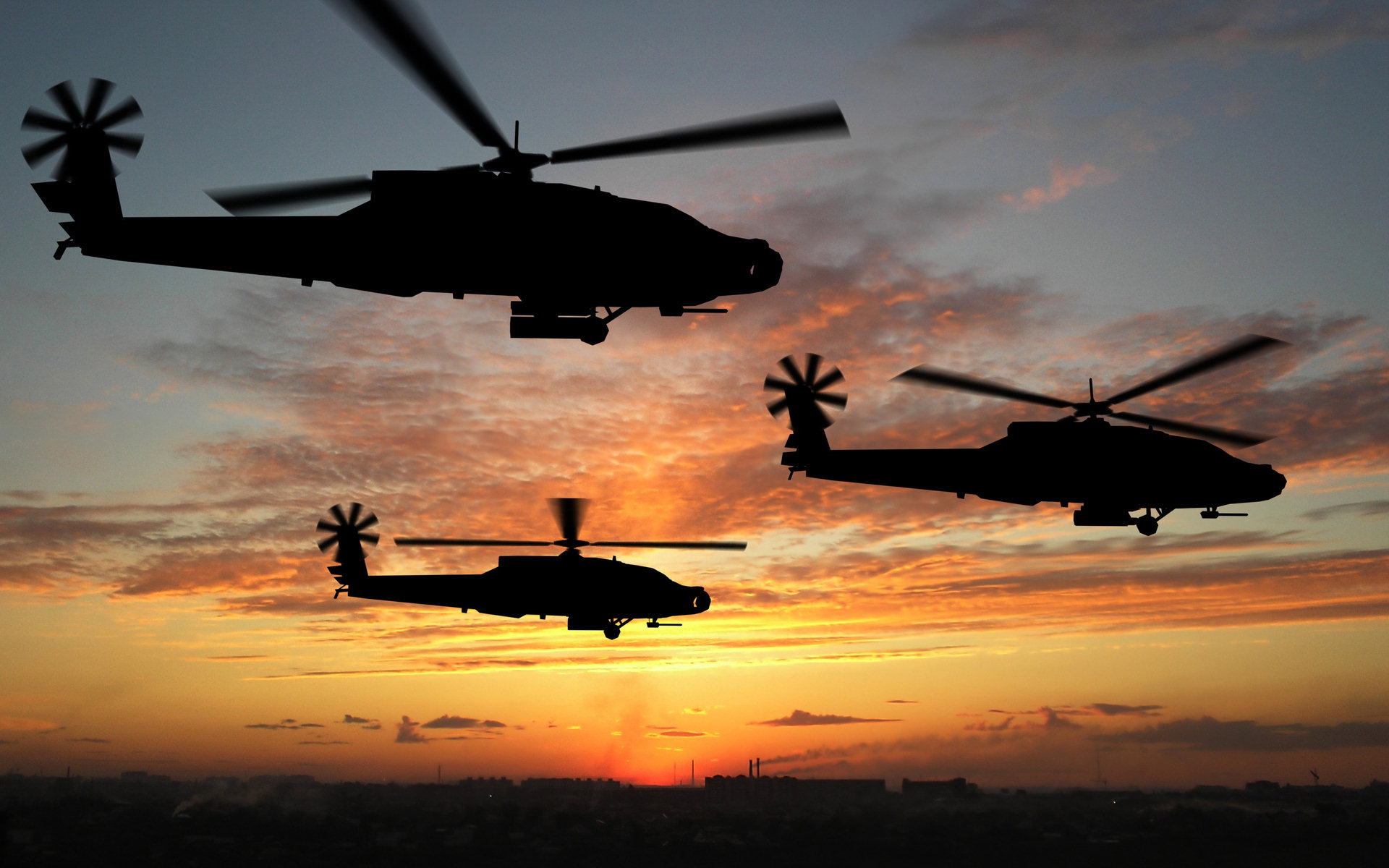 Military - Helicopter  Wallpaper