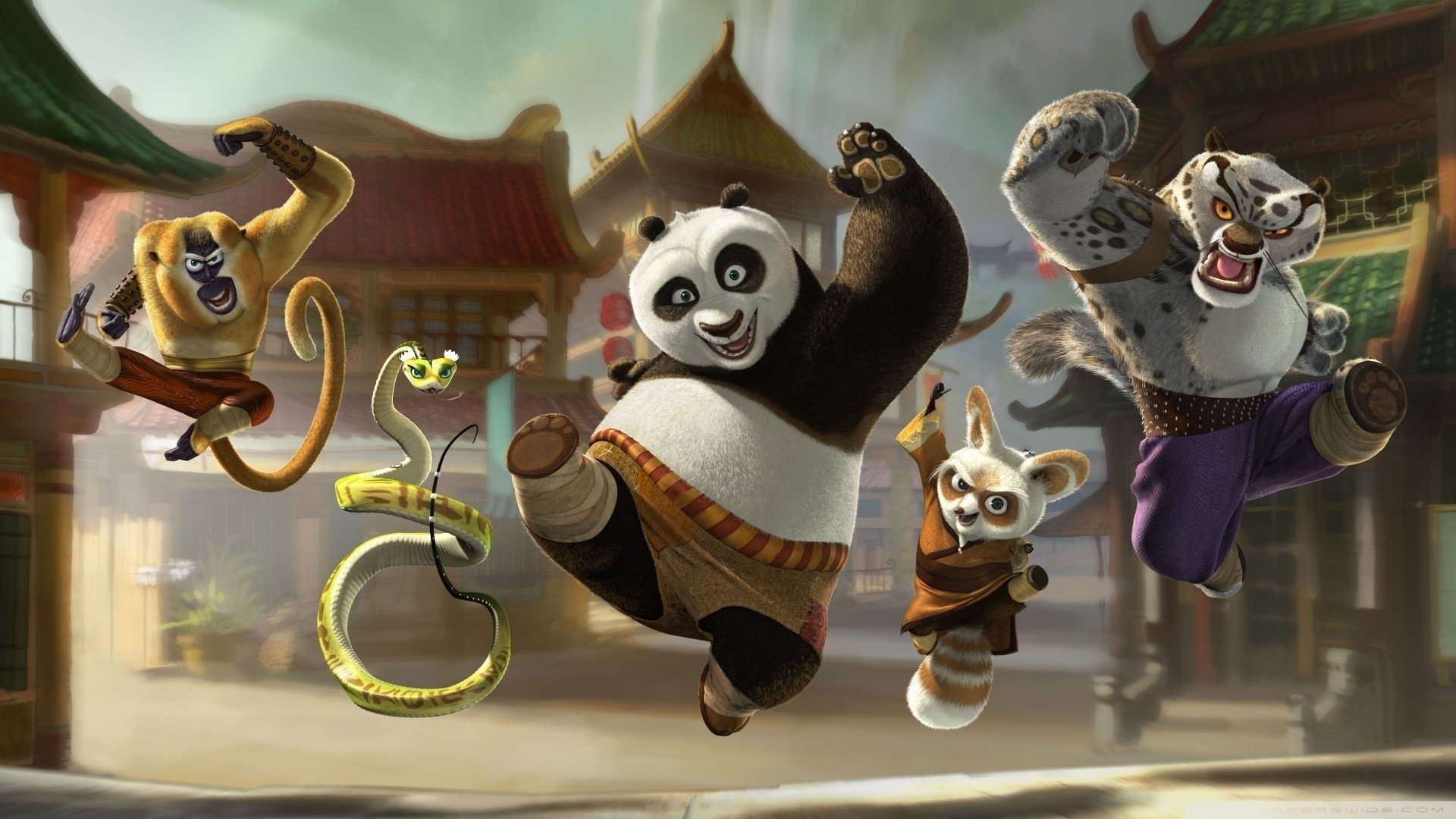 46 kung fu panda hd wallpapers | background images - wallpaper abyss