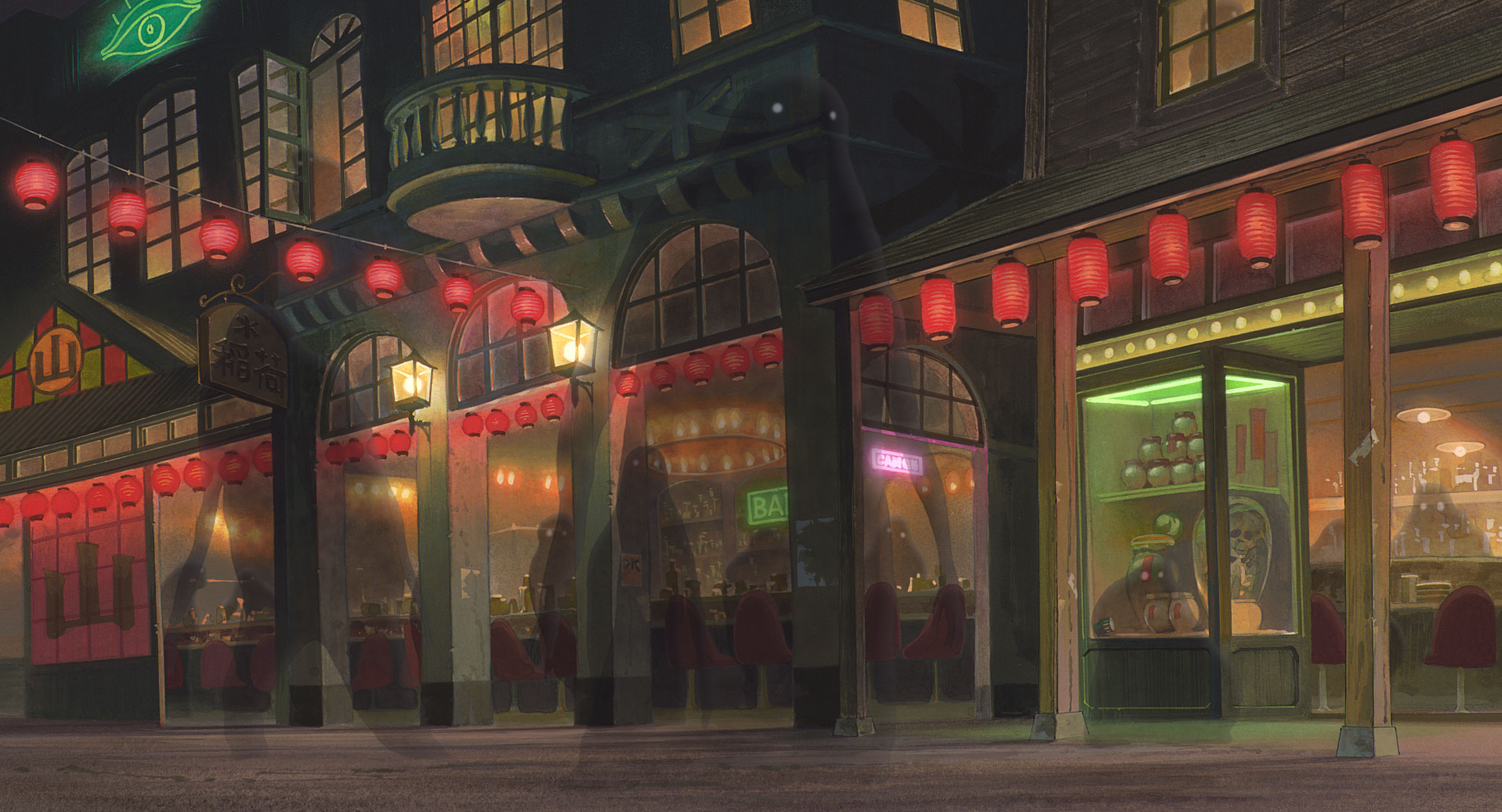 Spirited Away Full HD Wallpaper And Background Image