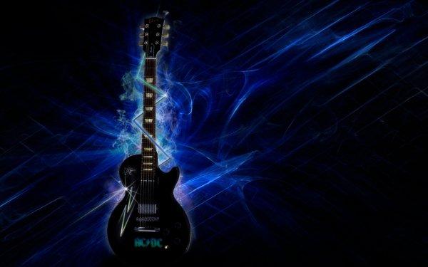 Music AC/DC Band (Music) Australia Gibson Guitar HD Wallpaper | Background Image