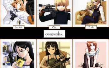 Anime - Gunslinger Girl Wallpapers and Backgrounds ID : 221274