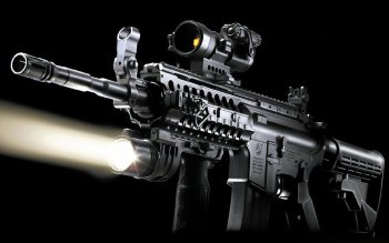Weapons - Assault Rifle Wallpapers and Backgrounds ID : 223398