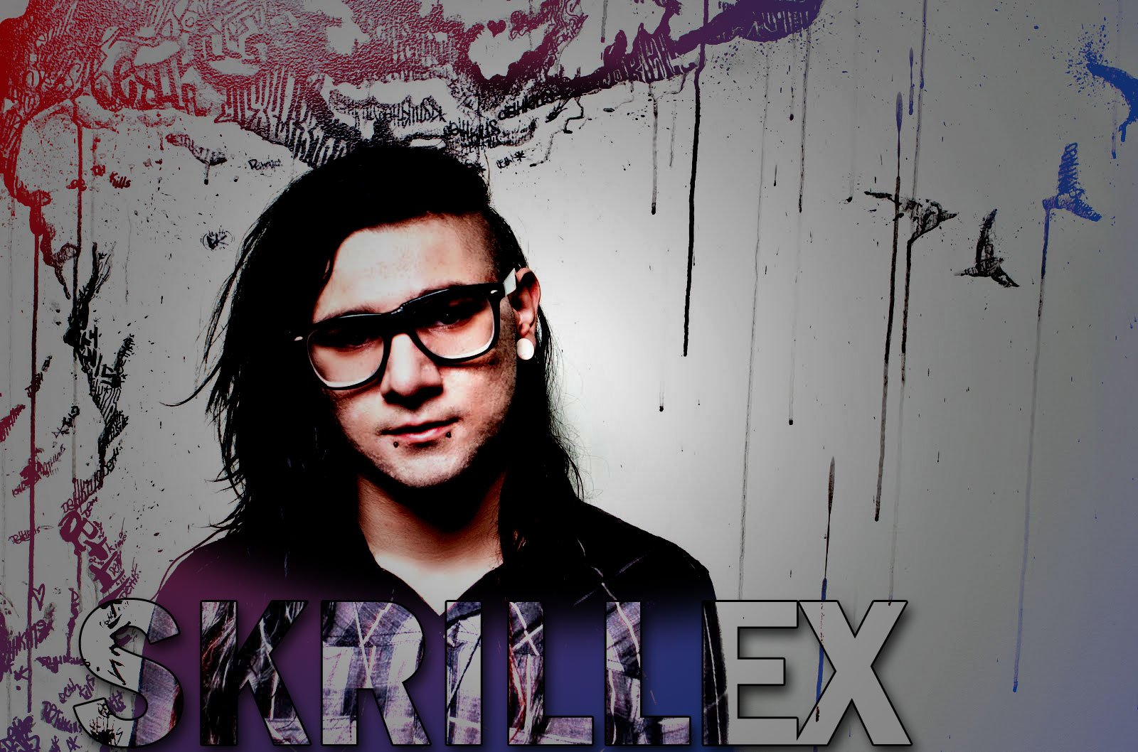 Music - Skrillex  Dubstep Trance Music Wallpaper