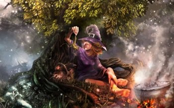 Fantasy - Witch Wallpapers and Backgrounds ID : 225836