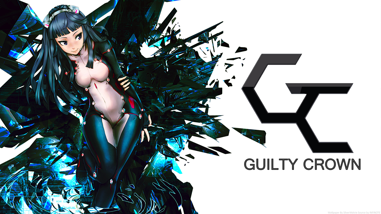 25 Anime Wallpapers Hd Download Free Stunning Hd: Guilty Crown Fond D'écran And Arrière-Plan