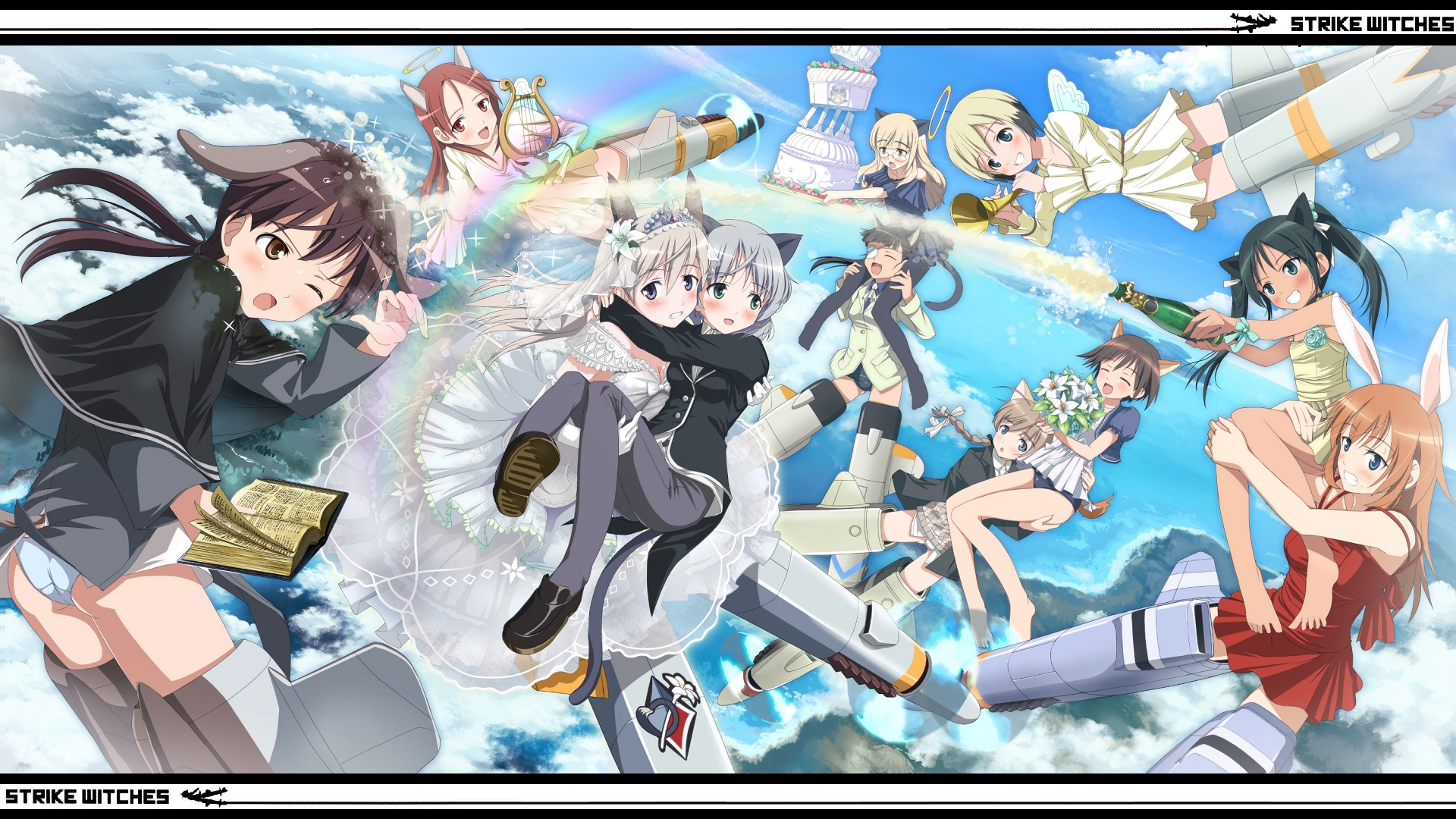 Strike Witches Full HD Wallpaper and Background   1920x1080   ID ...