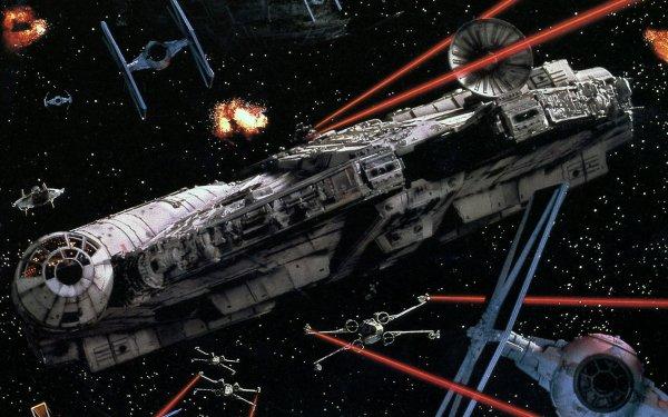 Movie Star Wars Episode VI: Return Of The Jedi  Star Wars Millennium Falcon HD Wallpaper | Background Image