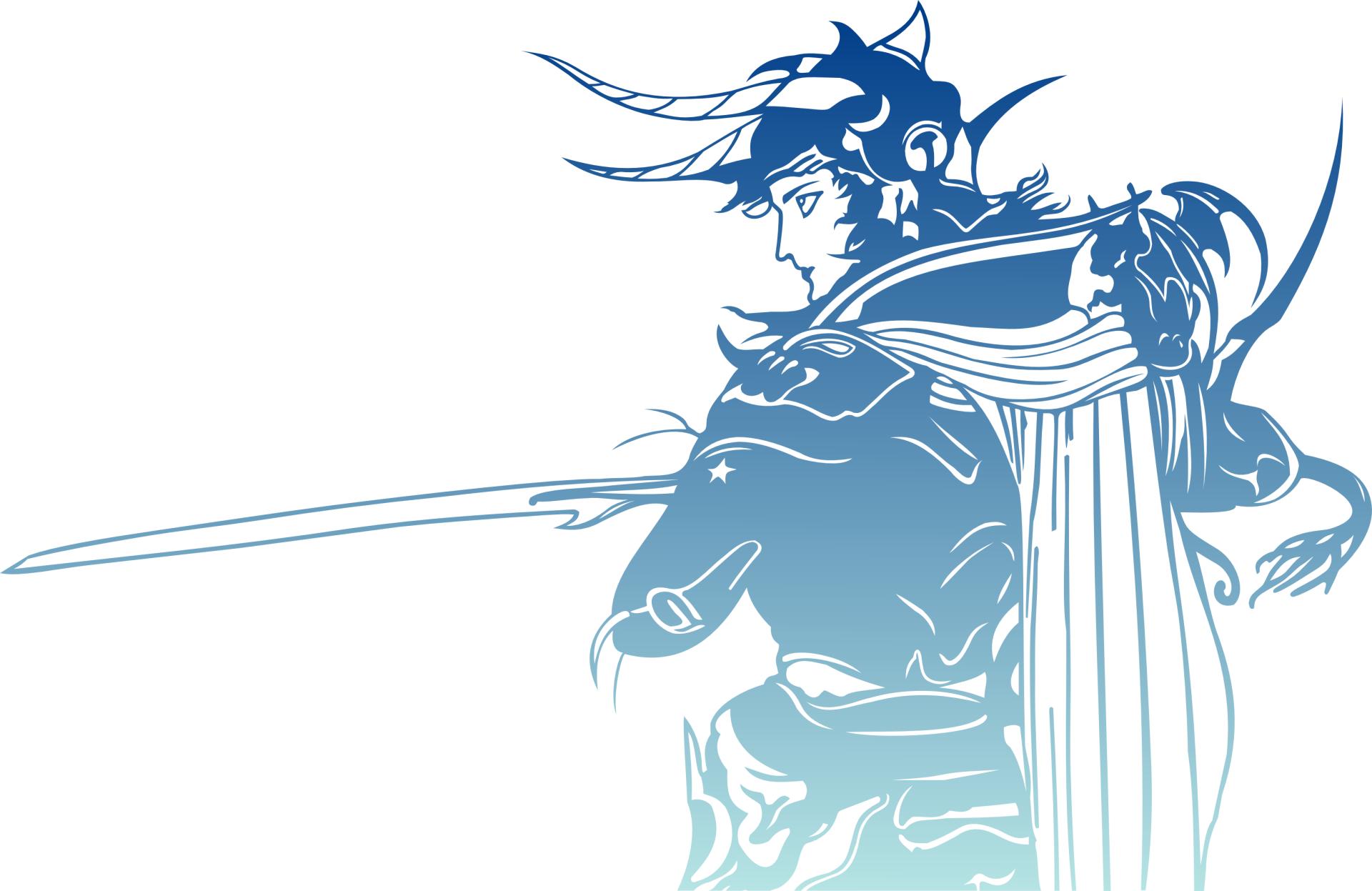 Video Game - Final Fantasy  Warrior Of Light (Final Fantasy) Logo Wallpaper
