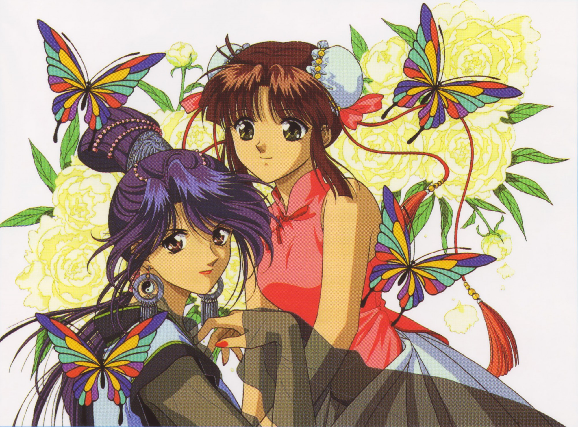 Fushigi Yuugi HD Wallpaper | Background Image | 2000x1478 ...