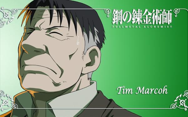 Anime FullMetal Alchemist Fullmetal Alchemist Tim Marcoh HD Wallpaper | Background Image
