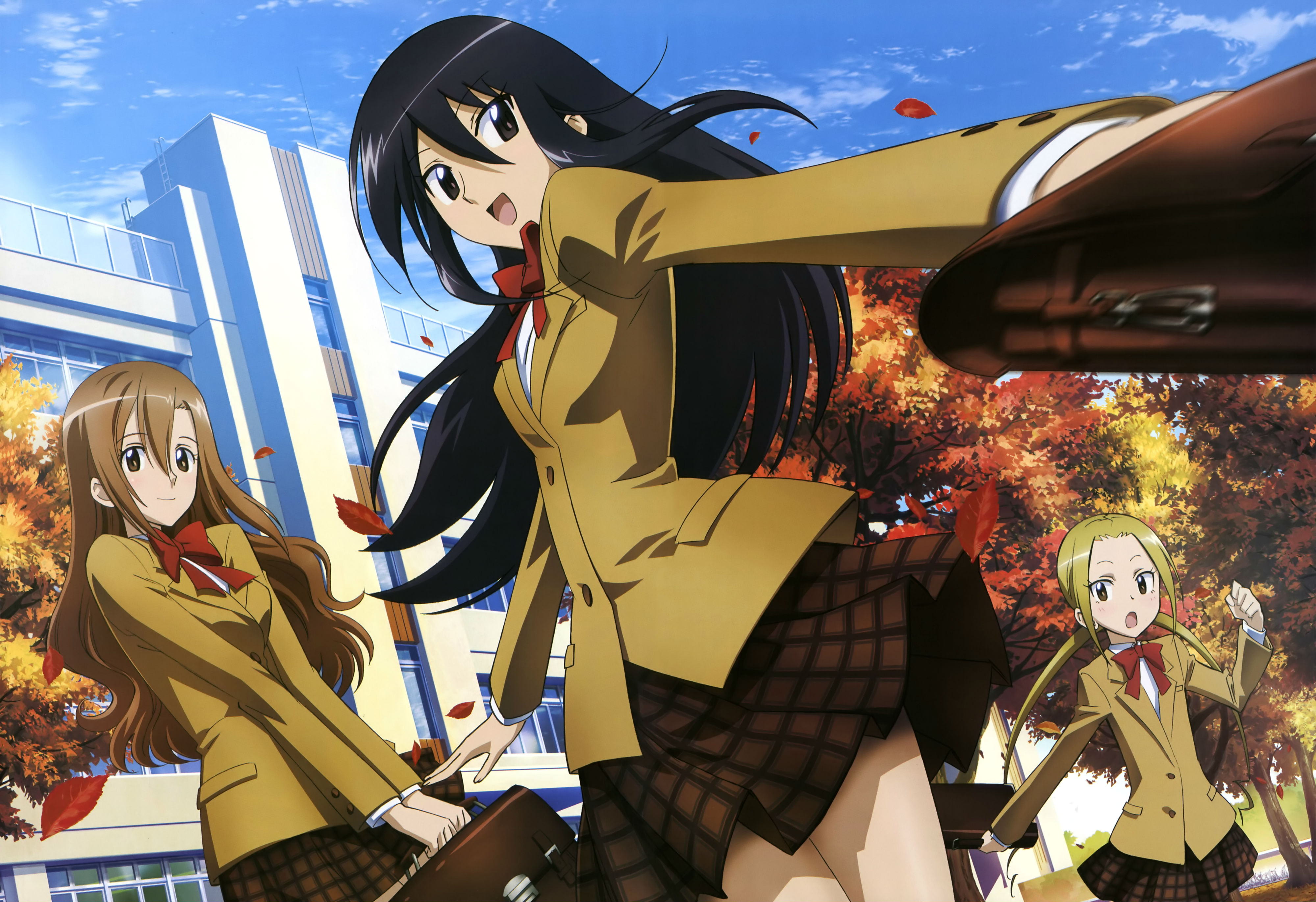 4 Seitokai Yakuindomo HD Wallpapers | Backgrounds - Wallpaper Abyss