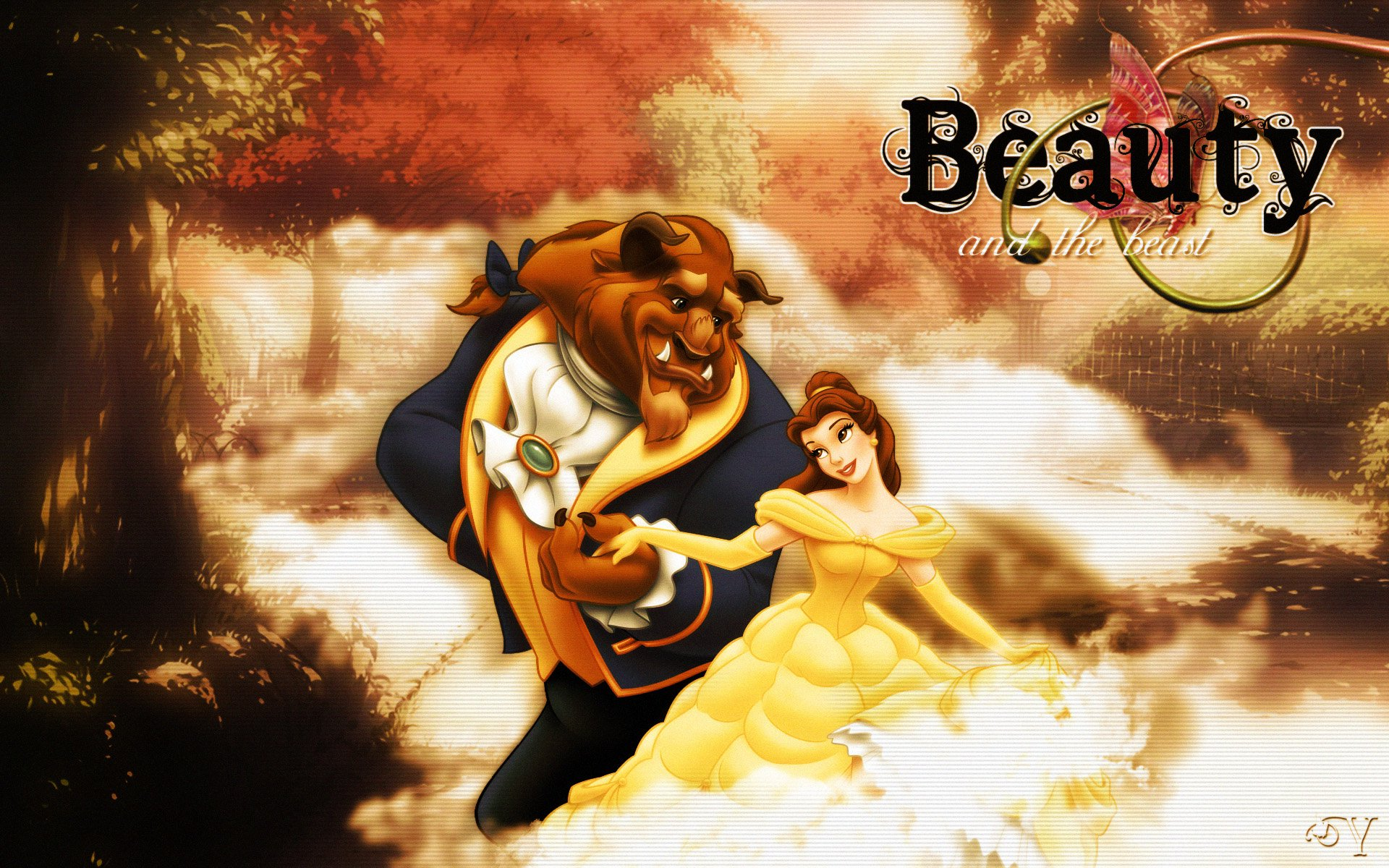 Download Beauty And Beast: Beauty And The Beast Full HD Wallpaper And Background