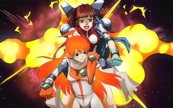 Anime Crossover Diebuster Gunbuster Fondo de pantalla HD | Fondo de Escritorio