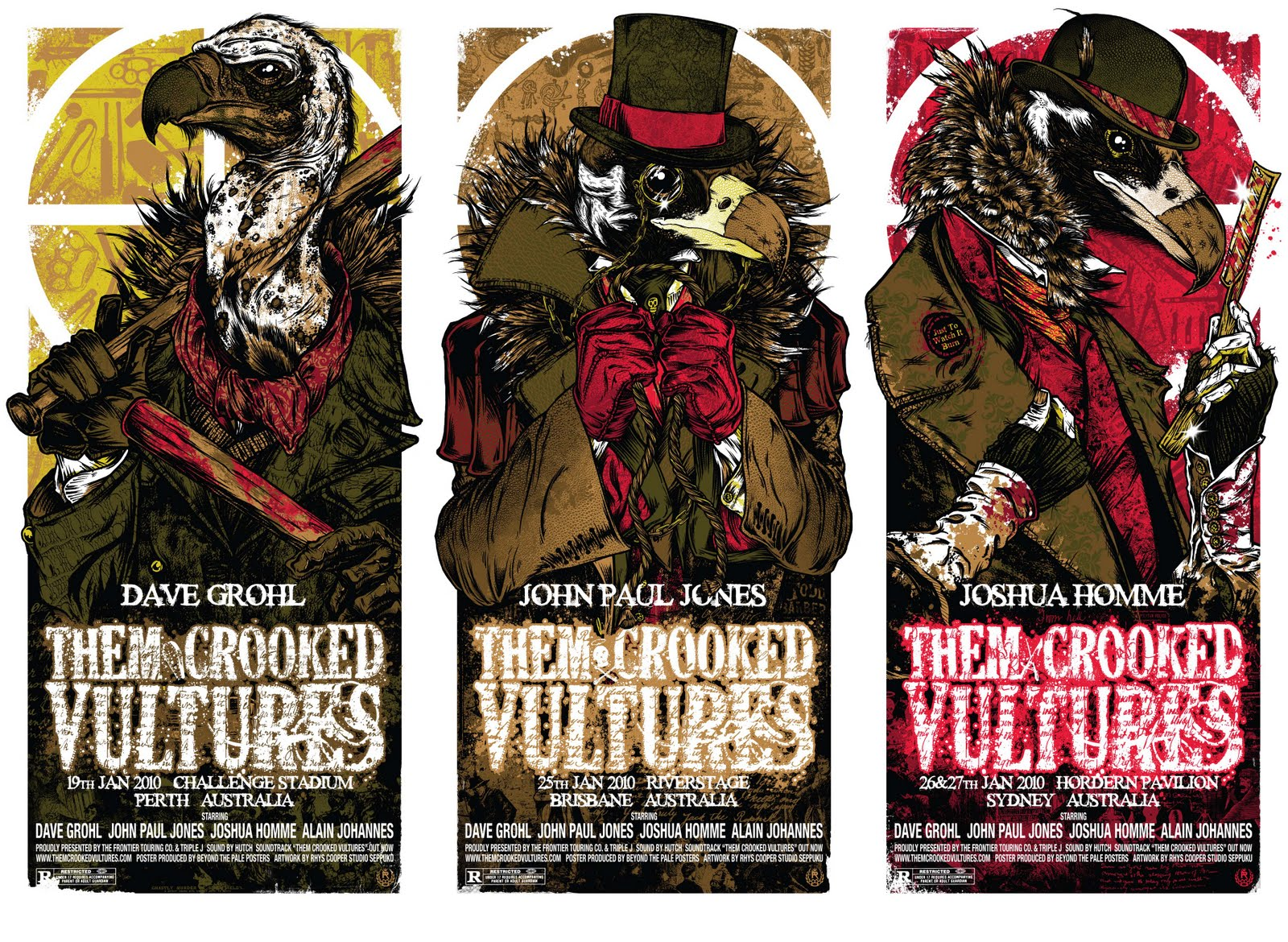 10 Them Crooked Vultures Hd Wallpapers Background Images