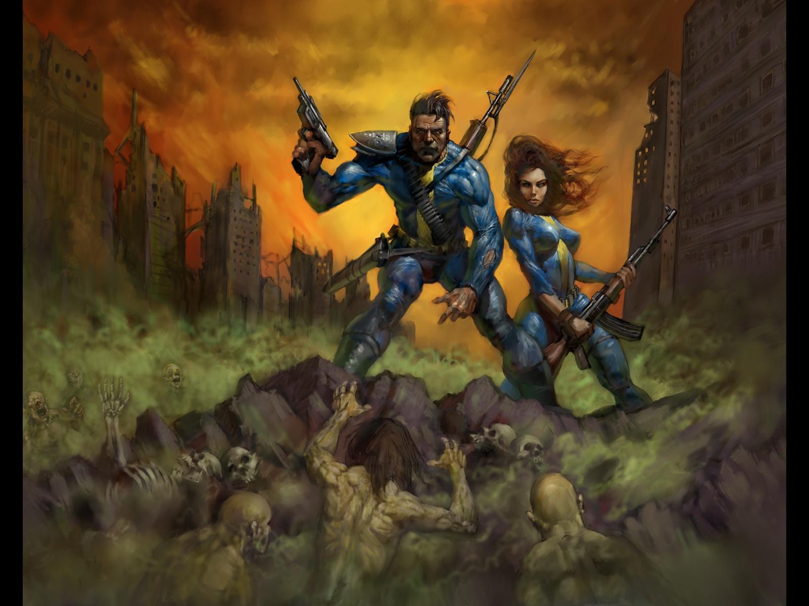 Fallout tapet og baggrundsbillede 1600X1200 Id232828-8081