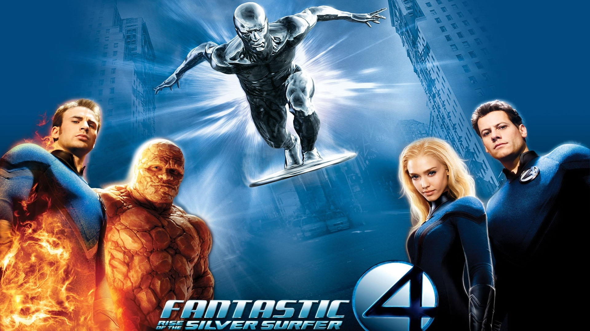 Fantastic 4 Rise Of The Silver Surfer Hd Wallpaper Background